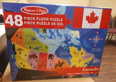 CCR002583 Canada Puzzle