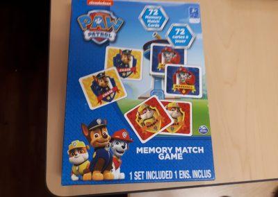 CCR002630 Paw Patrol Memory Game