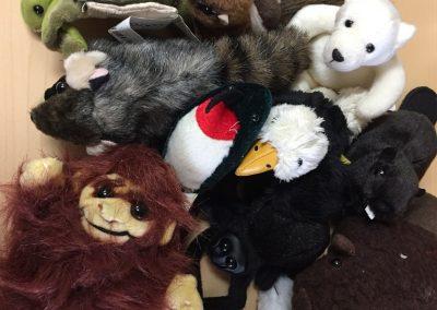 CCR002724 Animal finger puppet kit