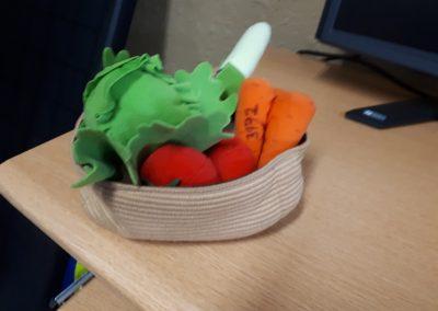 CCR003972 Basket of vegetables