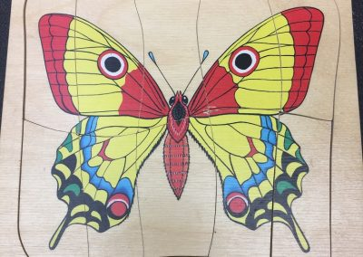 CCR00514 Butterfly puzzle