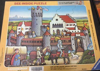 SCA003769 Castle puzzle 3